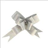 Бант-бабочка № 1,2 Фактура, цвет серебряный