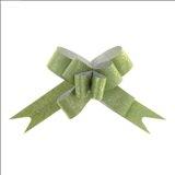 Бант-бабочка № 1,2 Фактура, цвет зелёный
