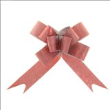 Бант-бабочка № 1,2 Фактура, цвет бордовый