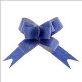 Бант-бабочка № 1,2 Фактура, цвет синий