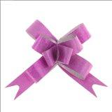 Бант-бабочка №1,2 Фактура, цвет малиновый