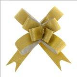 Бант-бабочка №1,2 Фактура, цвет золото