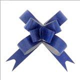 Бант-бабочка №1,2 Фактура, цвет синий