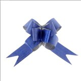 Бант-бабочка №3 Фактура, цвет синий
