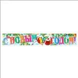 Плакат полоска С Новым годом! детская